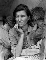 pictures on the great depression